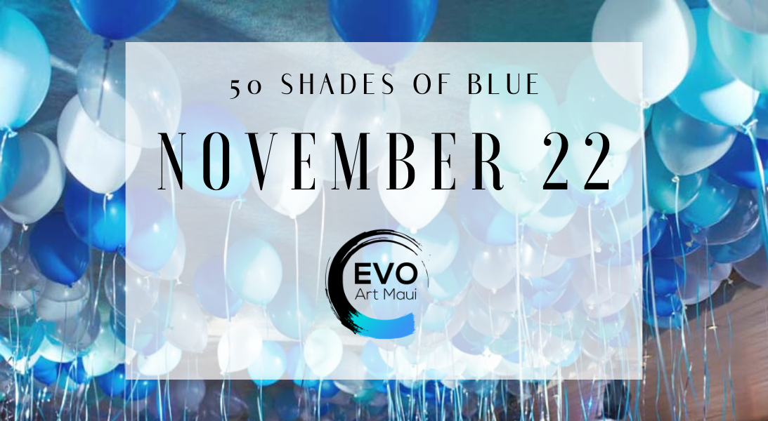 50 SHADES OF BLUE EVENT
